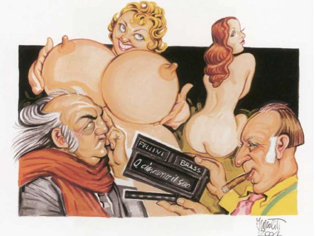 """SERGIO IPPOLITI Italia """"Special Guest"""" 2016 per la Caricatura"""
