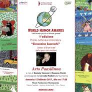 """(Italiano) HUMOROUS LITERATURE World Humor Awards """"Premio Giovannino Guareschi"""""""
