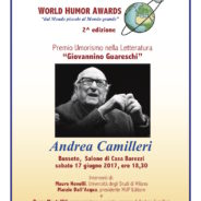 Andrea Camilleri, premio per l'Umorismo nella Letteratura