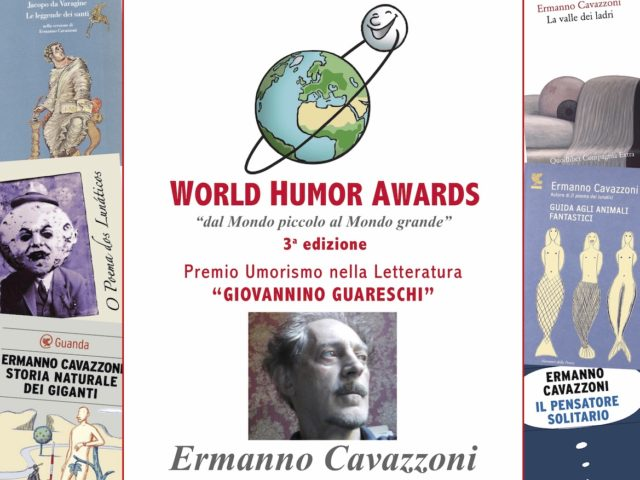 """Ermanno Cavazzoni """"Premio Guareschi 2018"""" Umorismo in Letteratura"""