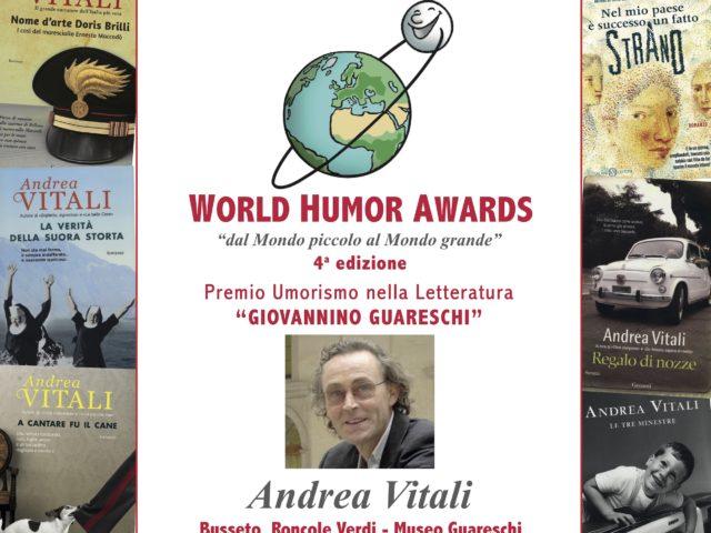 (Italiano) Premio Guareschi 2019 assegnato ad Andrea Vitali