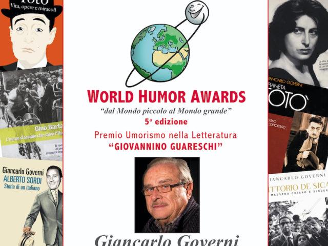 (Italiano) Premio Guareschi 2020 a Giancarlo Governi